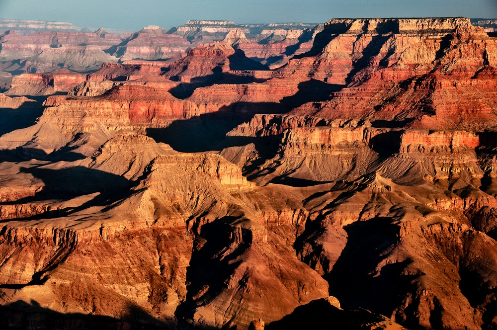 layers of the grand canyon Grand canyon adventures  grand canyon tours the grand canyon is a  and exposed in the walls of the canyon these rock layers record much of the.