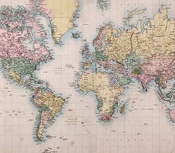 As the World Turns- A Lesson on Maps for Kids
