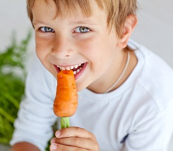 Green, Glorious Green – Kids Eating Healthy