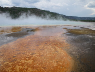Yellowstone's Hot Springs