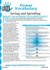 This free Vocabulary Packet for Kids Discover KD2: Saving and Spending is a systematic and individualized approach to vocabulary development and enables teachers to assist students in improving their reading comprehension skills.